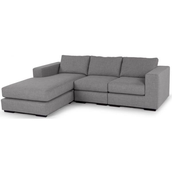 Угловой диван Morti, светло-серый купить