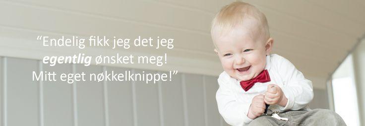 Yndlingsknippet - det babyen egentlig ønsker seg! Årets nyhet innen babygaver, og den perfekte gave til navnefest eller dåpsgave til gutt og jente.