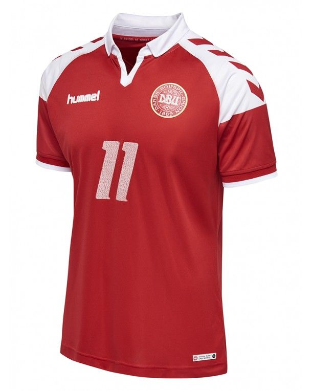 hummel Dbu 1992 Tribute Jersey S/s - Tango Red W/logo - Collections Danish National Team