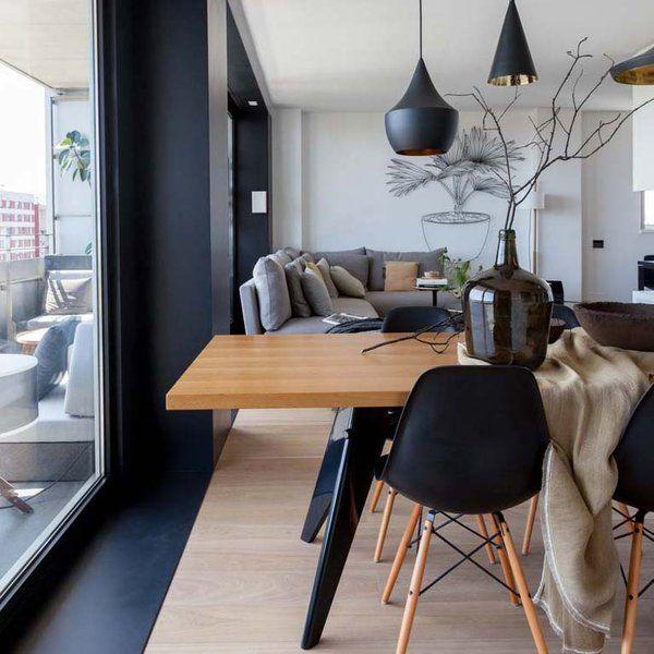 Un piso de dise o contempor neo pisos gris y moderno for Decorar piso gris