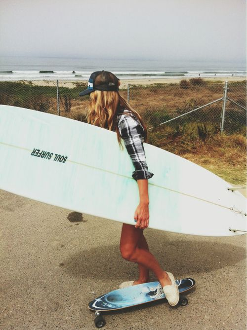 Flannels and skateboards and trucker hats. nature in the background all remind me of my summers <3