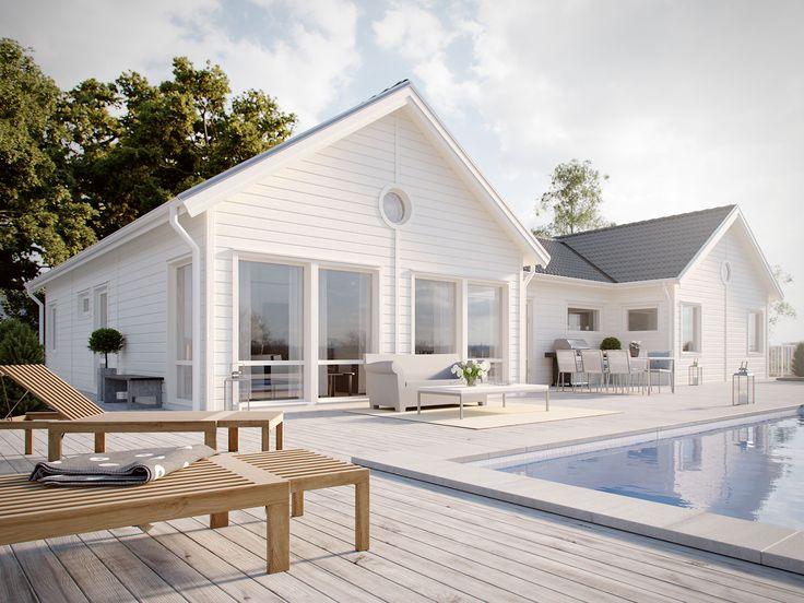 Njut av den öppna och ljusa designen som 1-planshuset Ballad från Myresjöhus bjuder på. Ballad är ett hus för dig som söker rymlighet!