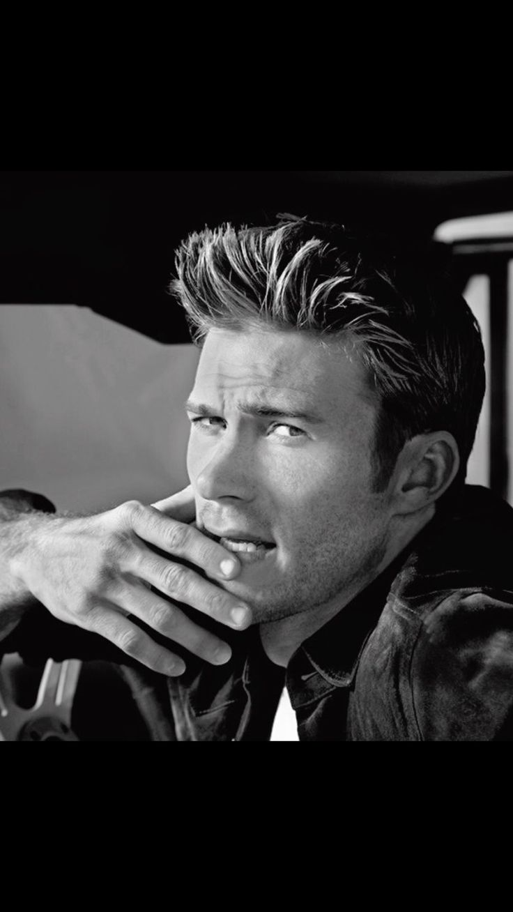 Scott Eastwood...like his father used to be...they are so similar