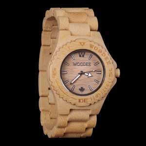 Taiga Watch Bamboo, $135, now featured on Fab.