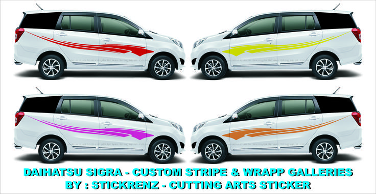 Daihatsu Sigra - Custom Stripe & Wrapp - Concept Galleries 004