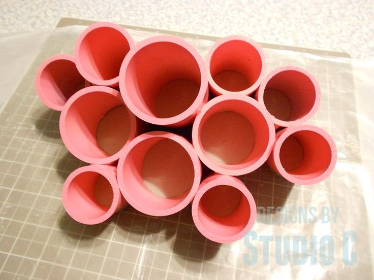 Make Desk Organizing Cups with PVC Here is a super-cute storage idea that can be made for very little money… Though $24.95 for the original isn't bad, it only comes in three colors. For…