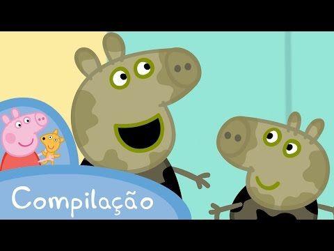 Свинка Пэппа. Peppa Pig полный экран (без титров) - YouTube