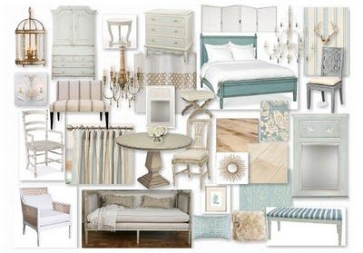 The Gustavian style colors are predominately white, cream, gray, pale blue, and pale green. Pale pink and yellow also find their way into the palette. Light wood tones are also used for furniture, floors and walls, and either left natural, bleached, or painted  in pale colors. LOVE Gustavian Style,