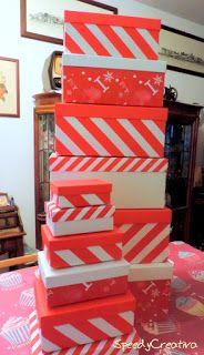Speedy Creativa: Paesaggio natalizio...in scatola!