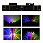 Ultimate Quad Red + Green + Blue + Purple Laser  - 430mW