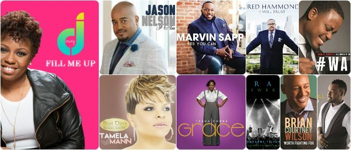 """Billboard Gospel Airplay Chart for Week of May 30, 2015 Issue. In it's 12th week at #1 is """"Fill Me Up"""" by Casey J followed again @ #2, the song """"This Place"""" by Tamela Mann. Jason Nelson remains again this week at #3 with his song """"I Am"""". """"Yes You Can"""" by Marvin Sapp jumps two spots again this week with a +44 spin uptrend as we await the release of his forthcoming album """"You Shall Live"""", which is now available for pre-orders and due in stores on June 2, 2015. Tasha Cobbs song """"For Your…"""