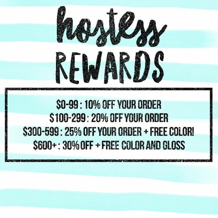 Lipsense hostess rewards