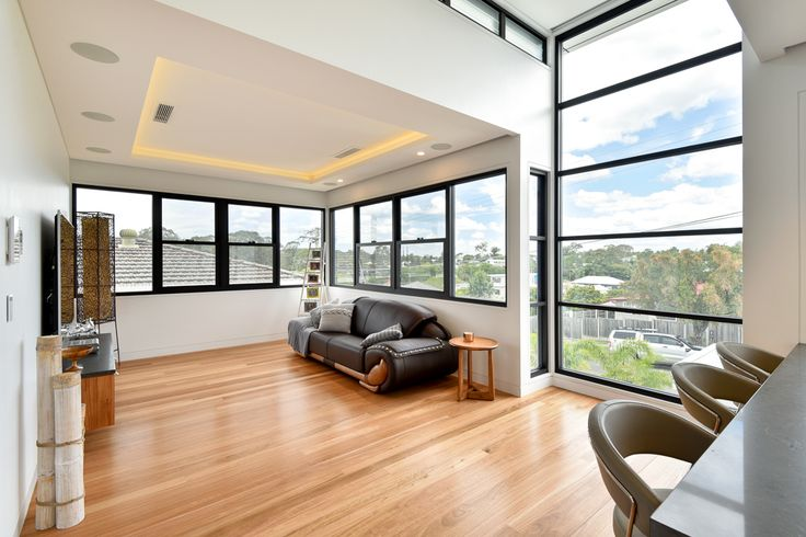 Carina Heights Luxury New Home | Living Room Design | dion seminara architecture