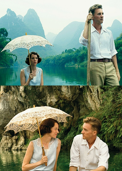 Naomi Watts & Edward Norton in scenes from -The Painted Veil