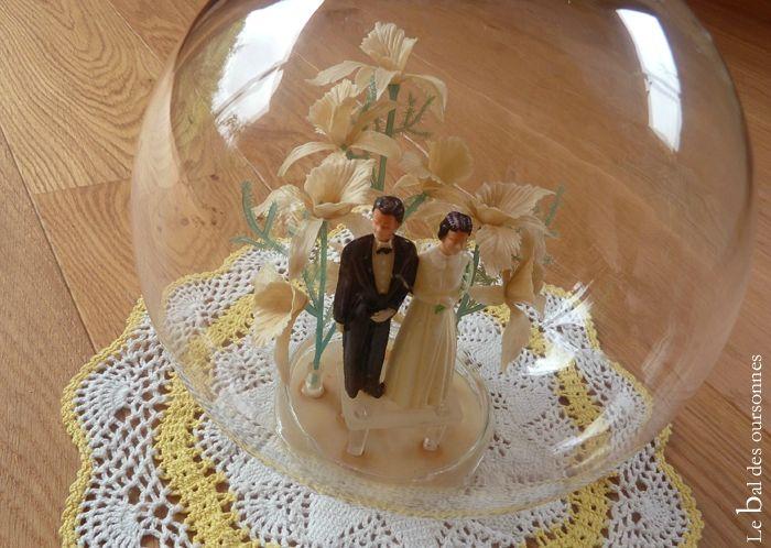106 Blog Brocante Vintage Cloche Mariés Décoration Fifties 2