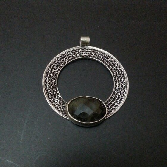 filigree necklace