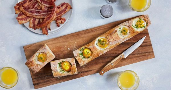 Eggs in a Basket. Get the recipe via @PureWow
