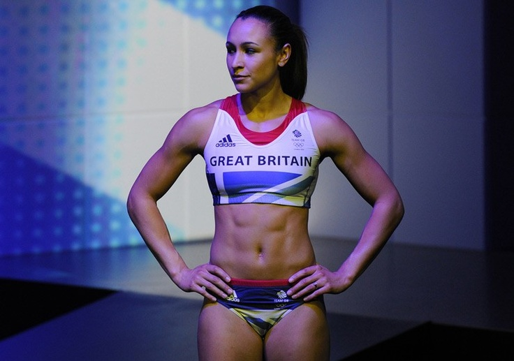 We love Jess Ennis! Fingers crossed for success this summer!