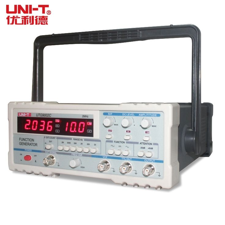 150.00$  Buy here - http://aliq95.worldwells.pw/go.php?t=32726829807 - UNI-T UTG9002C Signal Sources Signal Generators Function Generator Frequency Range from 0.2Hz to 2MHz