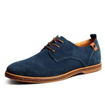 Fashion Suede Genuine Leather Flat Casual Oxford Shoes – Ecstacy Shop #ShoesForMen #oxfordshoesoutfit