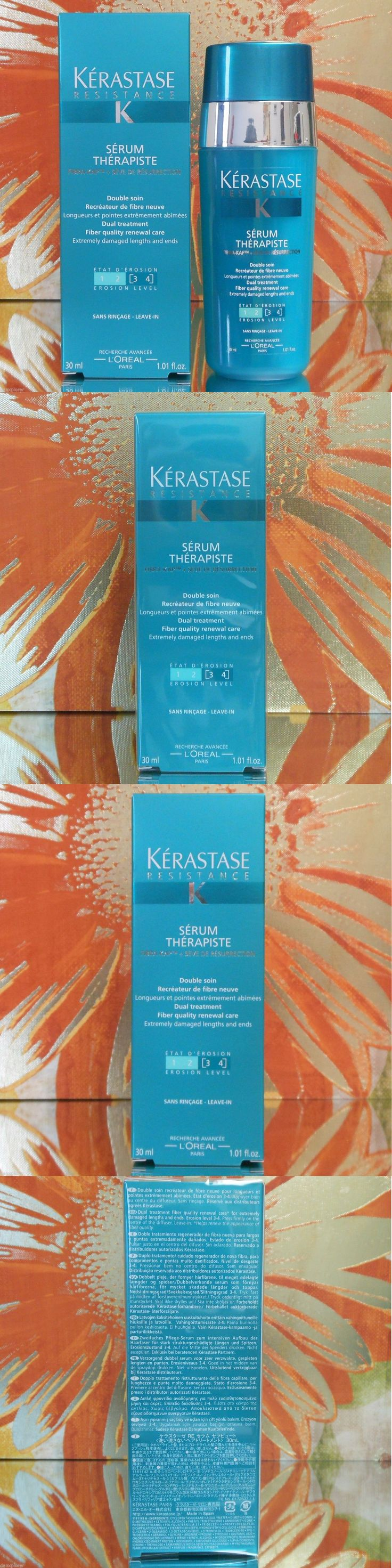 Relaxers and Straightening Prod: Kerastase Serum Therapiste 30Ml Or 1.01Oz, New In Box! Freshest Ebay,Quick Ship -> BUY IT NOW ONLY: $31.9 on eBay!