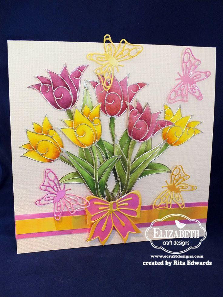 111 best images about peel offs stickers on pinterest for Elizabeth craft designs glitter