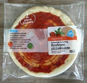 AH pizzabodem, plantaardig en sojavrij!