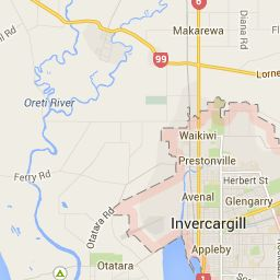 Invercargill - Google Maps