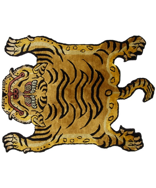 42 Best Tibetan Tiger Rugs Images On Pinterest
