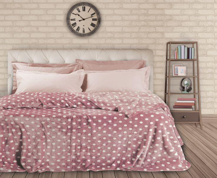 Das home  Fleece Prints Super soft Blankets .. W 15-16