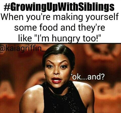 Lmfao..there go the kitchen fit your own food lol
