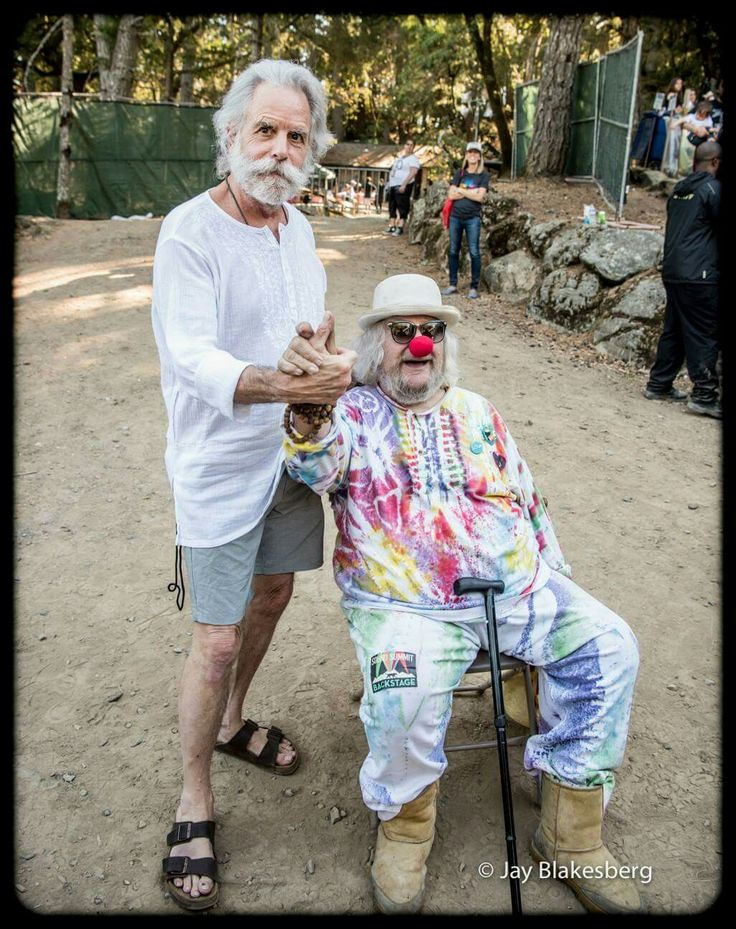 Bob Weir and Wavy Gravy 9/17/16