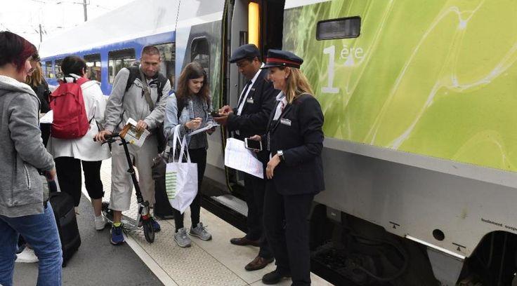 1h26: c'est le temps mis par le TGV pour assurer la liaison directe Paris Rennes ce dimanche 2 juillet 2017. Il avait quitté Montparnasse à 8h56 pour une