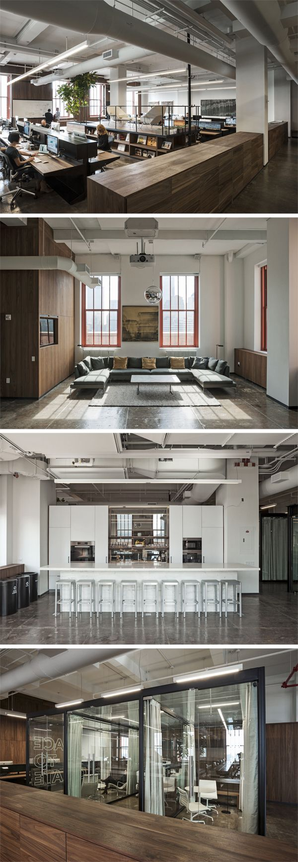 17 best ideas about modern office design on pinterest for Open space office
