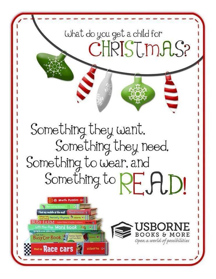 What do you have on your shopping list this year? Usborne Books have a great selection, ready to please any child on your list!