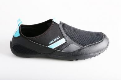Lescon - Erkek Phylon Tabanlı Siyah Spor Ayakkabı