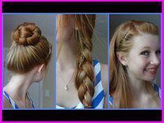 Süße Frisuren für Teenager Schule #Frisuren #Frisuren #Haar #Schulhaar April