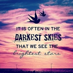 That we see the brightest stars.