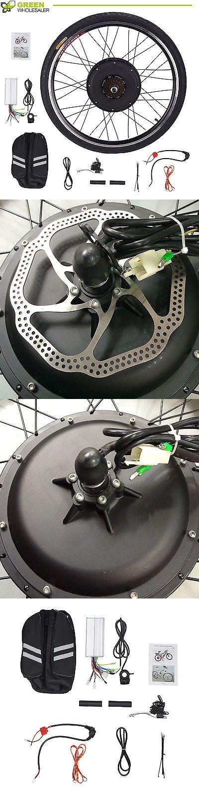 Electric Bicycles 74469: 48V Electronic Bike Conversion Kit W Motor Rear Wheel Hub Speed 26''1000W -> BUY IT NOW ONLY: $150.99 on eBay!