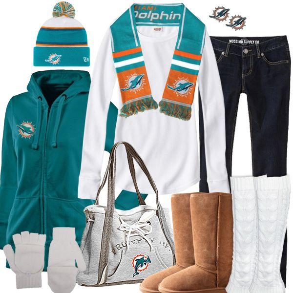 Miami Dolphins Winter Fashion