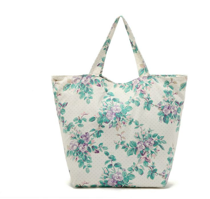 Spring Women Canvas Handbag Factory Price Shopping Bag Cotton Picnic Storage Daily Shoulder Tote free shipping cheapest