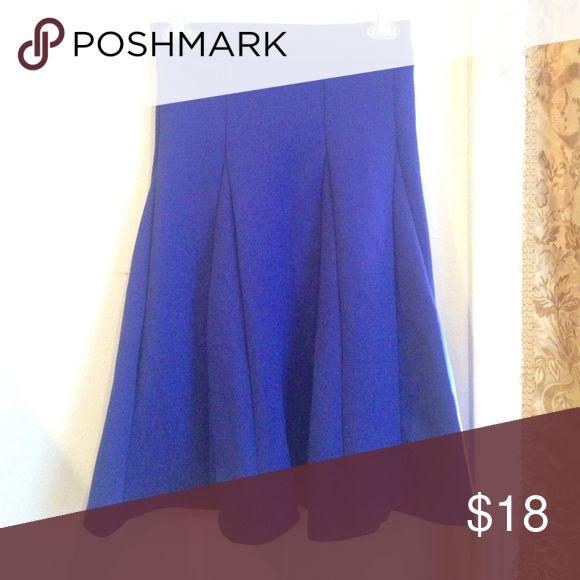 Pleaded purple mid length skirt! Super cute purple plead skirt. Only worn once. Kikiriki Skirts Midi