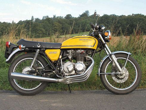 1975 Honda Super Sport 400 four...sweet