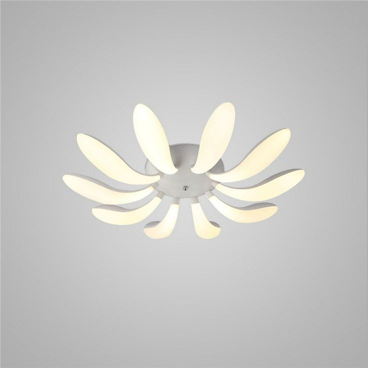 LEDシーリングライト 照明器具 リビング照明 寝室照明 天井照明 おしゃれ照明 花弁型 10枚 リモコン付 LED対応