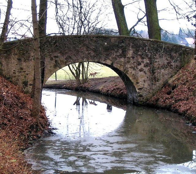 Bridge / Brücke in Hanau-Wilhelmsbad