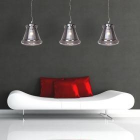 aranżacja wnętrz - Wykorzystano oprawę Lampa wisząca Ken (MD5174) – Azzardo