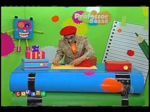 Caixa secreta   Professor Sassá