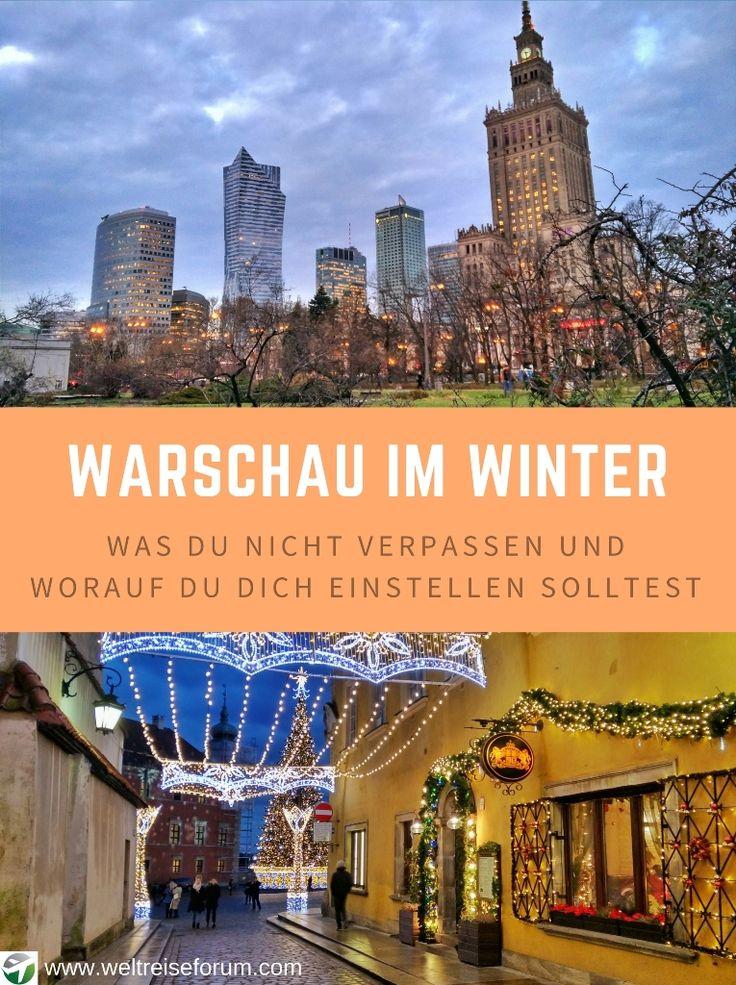 Warschau im Winter: Was kannst du im Winter in Warschau erleben? Wie sind die Temperaturen in Warschau? Welche Sehenswürdigkeiten lohnen sich?