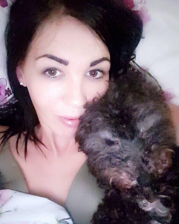 Love cwtches with this little one. Mr marlie  #selfie #eyes #lash #brows #dark #lipbar #lips #pout #inkedgirl #inkedgirls #inkedvixen #inkedlife #single #singlemum #depression #feelings #low #skin #psoriasis #acnerosacea #crps #septumpiercing #septum #madusapiercing #dog #puppy #puppylove http://ameritrustshield.com/ipost/1548501535784032836/?code=BV9YfFGjdpE