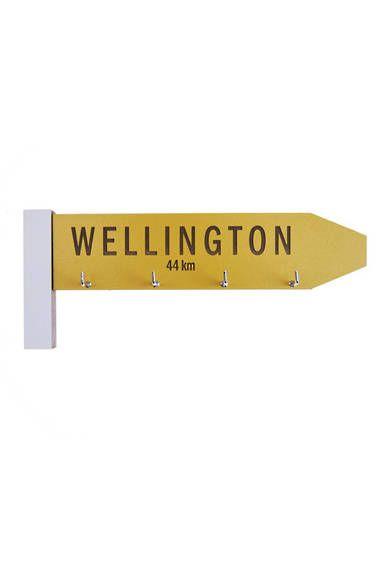 KEY SIGN WELLINGTON - IAN BLACKWELL HOMEWARE - DEAL - Mr Vintage